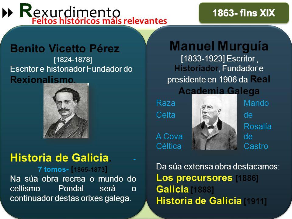 Historia de Galicia. -7 tomos- [1865-1873]